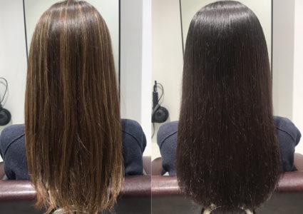 【実例】ハイライトで失敗した髪を自然な髪色に戻すたった1つの方法